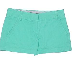 🌴 Mint J. Crew Chino Shorts 00🌴